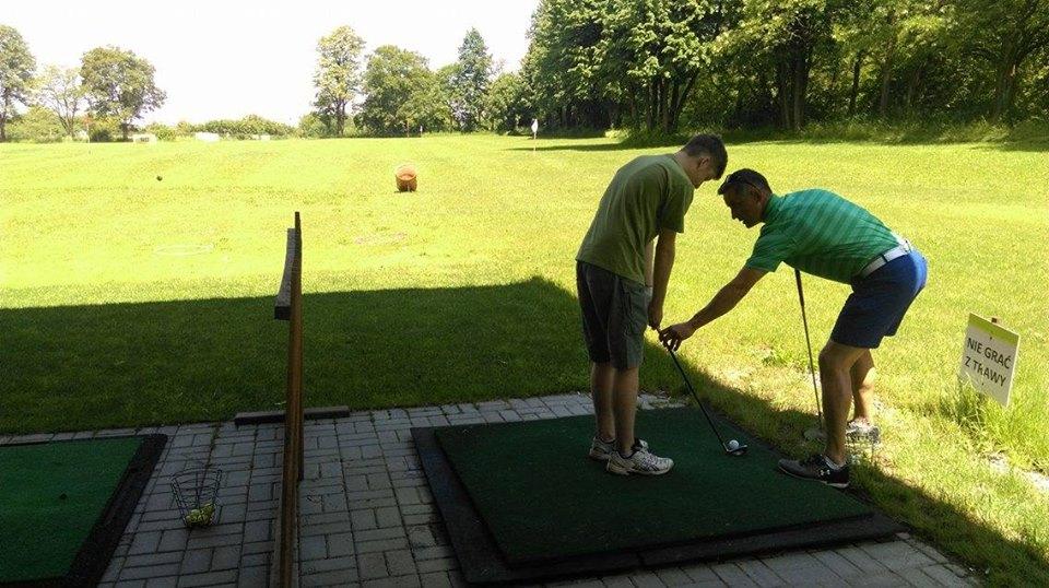 Golf Lublin nad Zalewem Zemborzyckim