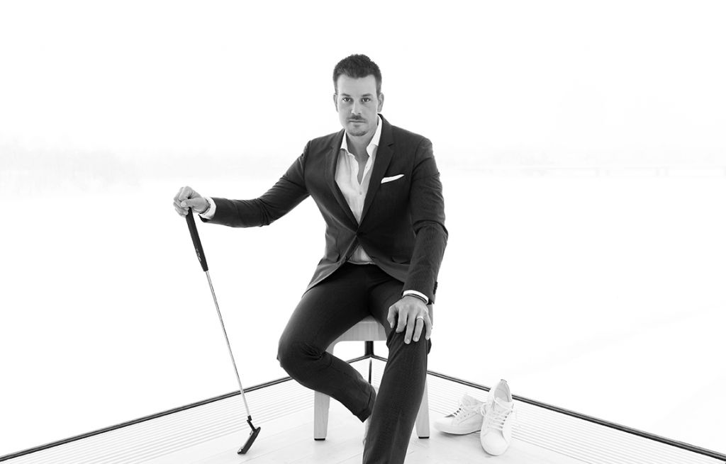Henrik Stenson w reklamie Hugo Boss