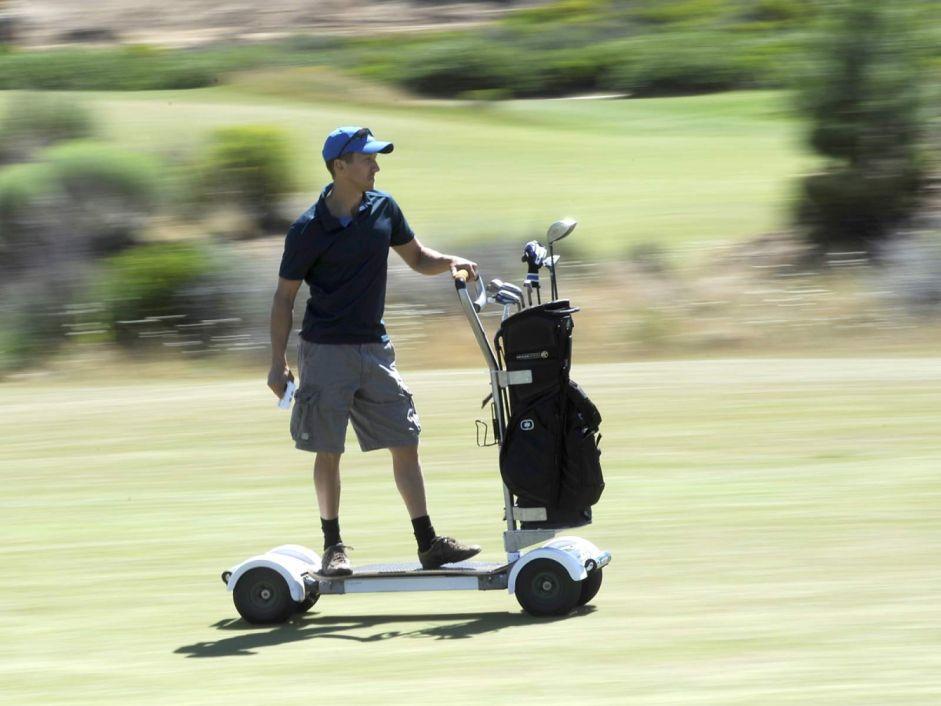 Golfboard - nowe spojrzenie na wózek golfowy