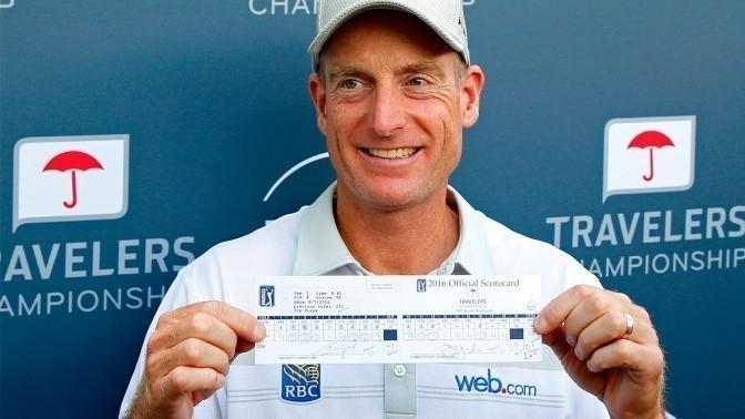 Jim Furyk zagrał 58 uderzeń  w PGA Tour 2