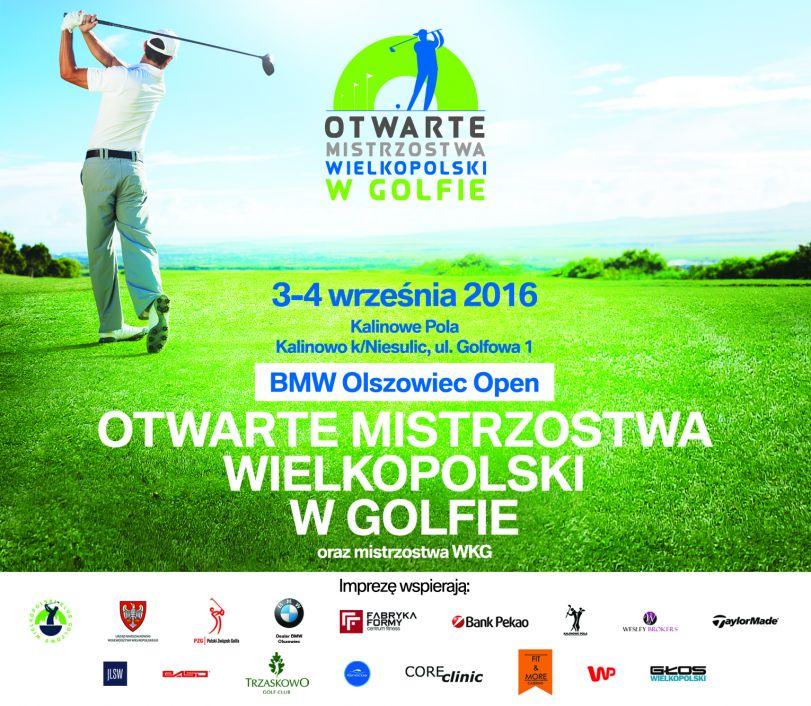 Otwarte Mistrzostwa Wielkopolski w Golfie_grafika informacyjna