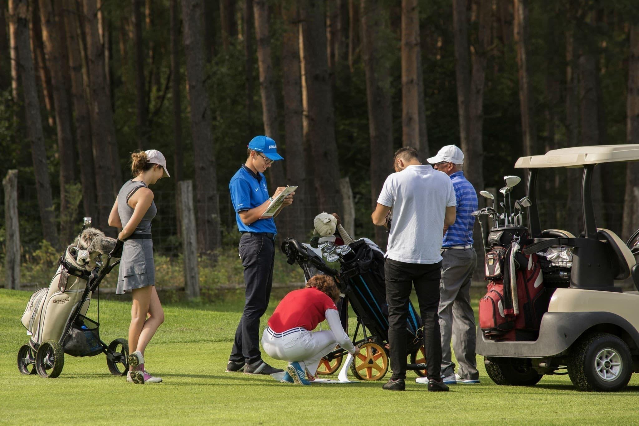 Zawody jakich jeszcze nie było Otwarte Mistrzostwa Wielkopolski w Golfie