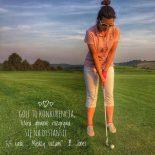 """#Mental golf cz.1. """"O motywacji, celach i magicznych rymowankach"""""""