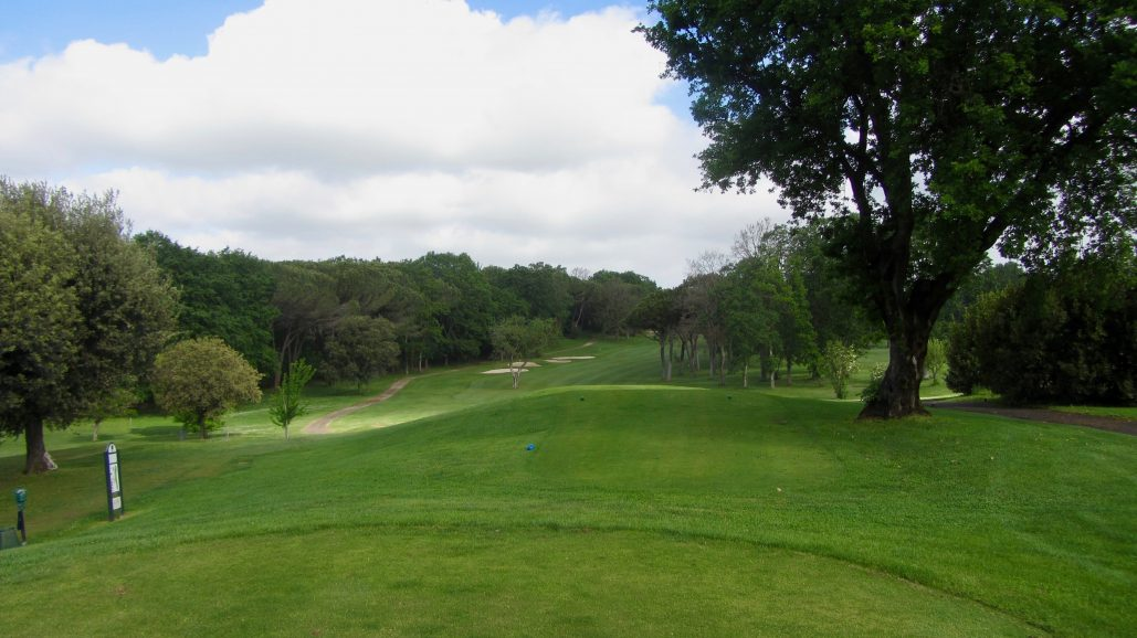 Olgiata GC, West Course - 3, par 4, si 1
