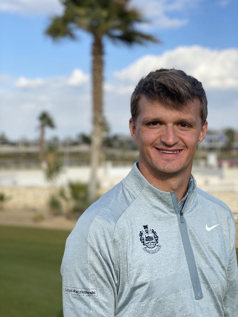 mateusz gradecki golfprtour egypt