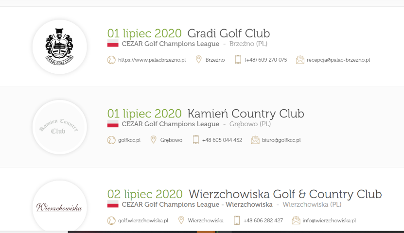CEZAR Golf Champions League 2