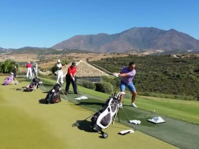 Trening dlugiej gry Golfguru