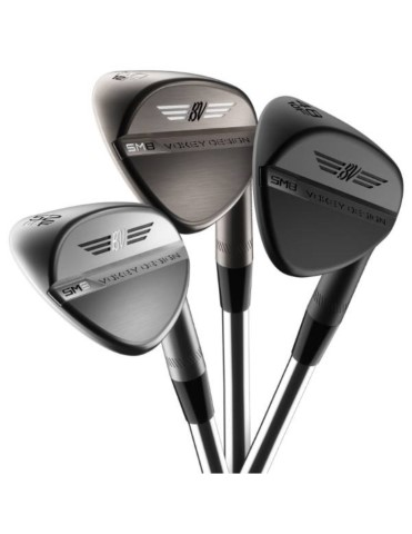 titleist sm8 wedge kij golfowy jet black