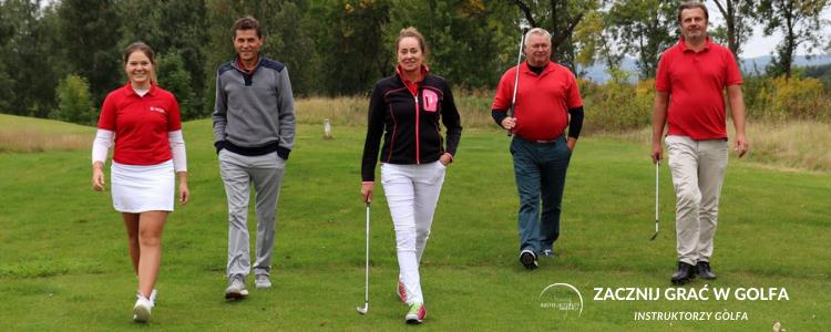 zacznij grać w golfa
