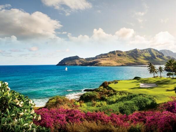 Hokuala Ocean Golf Course Parrish Kauai okladka